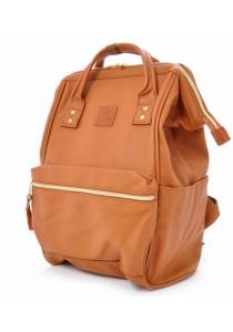 Anello Original Unisex PU Faux Leather Mini Backpack Rucksack Bag (CA)