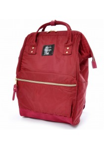 Anello Nylon Backpack Regular Size (Wine)