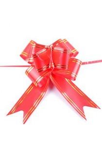 10 PCS DIY CNY Pull Flower Ribbon 12X250mm Easy Decoration Gift