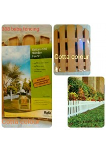 Baba 308 Fencing (4 Pcs) Cotta Colour - Garden Tools Decoration