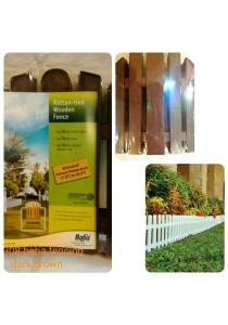Baba 308 Fencing (4 Pcs) Dark Brown - Garden Tools Decoration