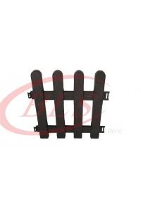 Baba 309 Plastic Fencing (4 Pcs) Dark Brown - Garden Tools Decoration