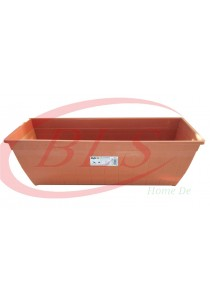 Baba Planter Box 518 - Cotta Color - Plastic Flower Pot