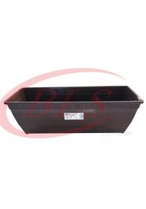 Baba Planter Box 518 - Dark Brown - Plastic Flower Pot