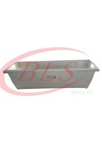 Baba Planter Box 519 - White Color - Plastic Flower Pot