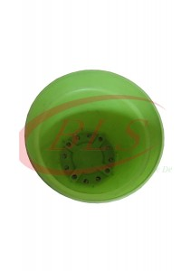 Baba Plastic Pot (Ice Cream Pot) TP85 - Green Color - 50 Pots