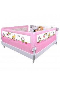 Baby Gift Bed Safety Guard Rail 180cm - Pink Rabbit