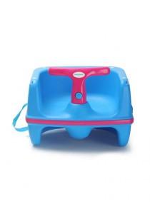 Babyhood Overturn Booster Baby Chair (Blue)