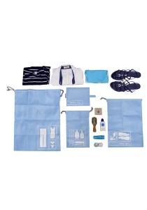 Gin & Jacqie Bailey Travel Kit Blue G214BL