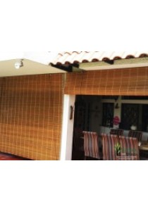 Bamboo Blind Outdoor 4'(W) x 7'(H) (Natural)