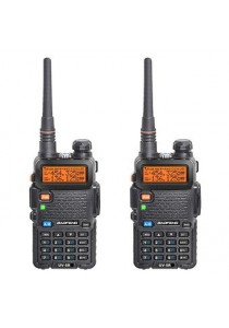 Baofeng Handheld Walkie Talkie Uhf Vhf Radio Station UV-5R - 1 set (2 pcs)