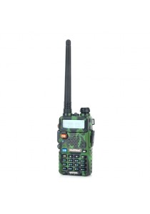 "Baofeng UV-5R 1.5"" LCD 5W Dual Band 128-CH Walkie Talkie (Camouflage)"