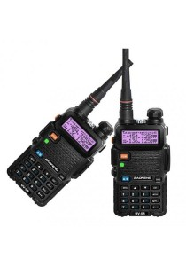 BaoFeng VHF UHF UV-5R Walkie Talkie With Earphone Pair