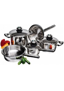 Bastille Waterless Stainless Steel Set of 8