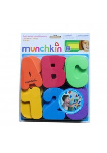 Letters and Numbers Bath Toy Set - 36 Pcs
