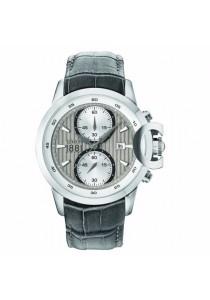 Cerruti 1881 CTCRA133SN61GY Chieti Chronograph Grey Leather Strap Men Watch