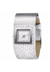 ESPRIT ES101552007 Square Button Ladies' Watch White