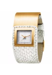 ESPRIT ES101552012 Square Button Ladies' Watch Gold