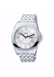 ESPRIT Victory Silver ES101901002 All Stainless Steel White Dial Men Watch
