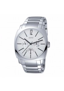 ESPRIT Magnitide Silver ES102291005 All Stainless Steel White Dial Multifunction Men Watch