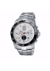 ESPRIT Athlelic Silver ES102511003 All Stainless Steel Chronograph Men Watch