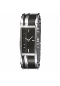 ESPRIT Houston Dallas Black ES103912007 Two Tone IP Black Stainless Steel Black Dial Ladies Watch