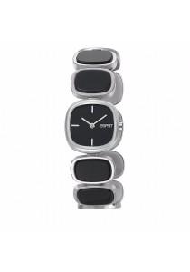 ESPRIT Slide Black ES104662001 Black Stainless Steel Bracelet Square Dial Ladies Watch