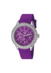 ESPRIT Marin Glints Speed Purple ES106222005 Silicone Strap Ladies Watch