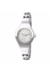 ESPRIT ES-Lilith Dazzle Silver All Stainless Steel Ladies Watch
