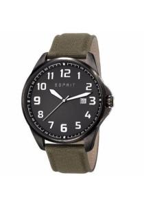 ESPRIT ES107991001 Clayton Canvas Military Green Men Watch