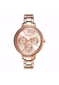 ESPRIT Es-melanie Rose Gold ES108152003 IP Rose Gold Bracelet Multifunction Ladies Watch