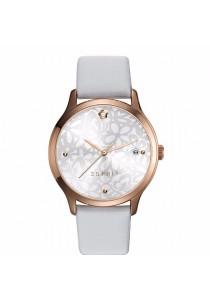 ESPRIT TP10890 White ES108902001 White Leather Strap Ladies Watch