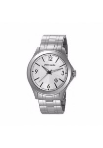 Pierre Cardin All Stainless Steel White Dial Men Watch