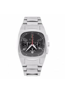 PUMA PU100021004 Forcer Chronograph Men's Watch Black & Silver