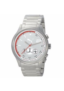 PUMA PU102791004 Red Zone Chrono Red PU Strap Men Watch