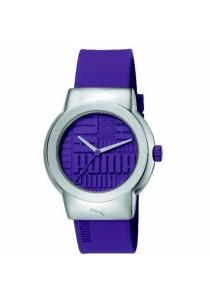 PUMA PU103842006 Uptown Purple PU Strap Ladies Watch