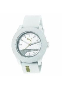 PUMA PU103971006 Academy White Silicone Strap Ladies Watch