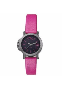 PUMA PU104082003 Ultramini Black Pink Ladies Watch