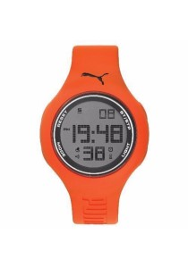 PUMA PU910801042 Loop L Orange Blue Digital Men Watch