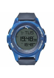 PUMA PU911161005 Vertical Camo Blue Digital Men Watch