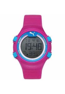PUMA PU911261003 Faas 100 S Pink Digital Ladies Watch