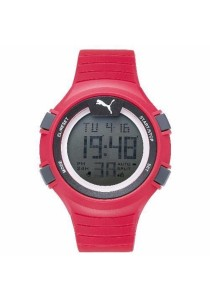 PUMA PU911281003 Faas 100 L Red Digital Men Watch