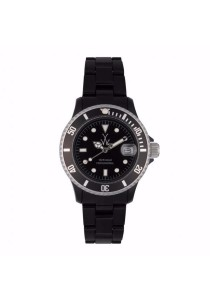 ToyWatch Fluo Small Black All Black Plasteramic Unisex Watch