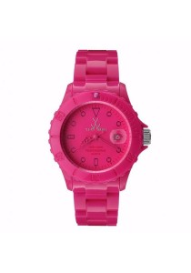 ToyWatch Monochrome Pink Plasteramic Unisex Watch