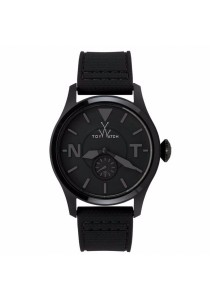 ToyWatch TOY2FLY All Black Silicone Strap Men Watch
