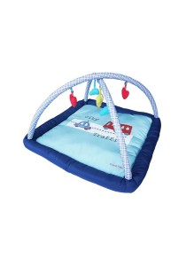 Sweet Heart Paris BBS12 Baby Playing Mat (Deep Blue)