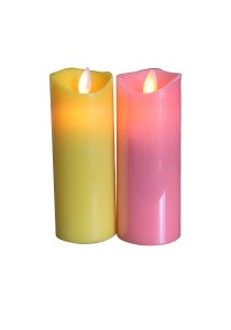 5inch Real Wax Candle (Red)