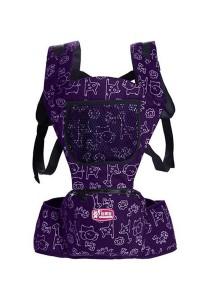 Multifunctional Baby Shoulder Safety Carrier/Baby Hip Seat (Purple)