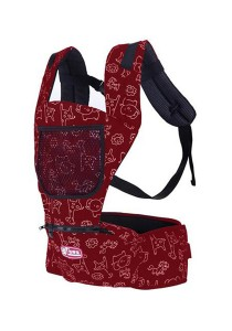 Multifunctional Baby Shoulder Safety Carrier/Baby Hip Seat (Red)