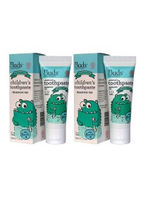 [Best Buy for 2] Buds: Children's Toothpaste with Fluoride C Peppermint 50gm